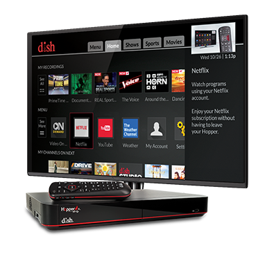 The Hopper - Voice remotes and DVR - Spring, Texas - Anything Wireless - DISH Authorized Retailer